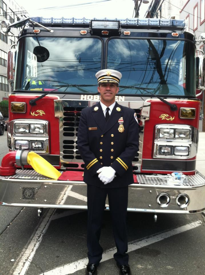 Battalion Chief Joe Turner , City Of Hoboken, NJ Fire Dept.