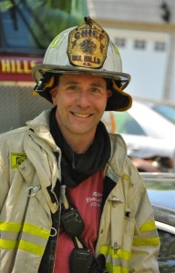 Chief Robert Fling,  Dix Hills Volunteer Fire Dept, Long Island, NY