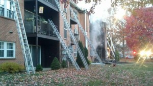 ruck Company Operations, Ladders, Garden Apartments