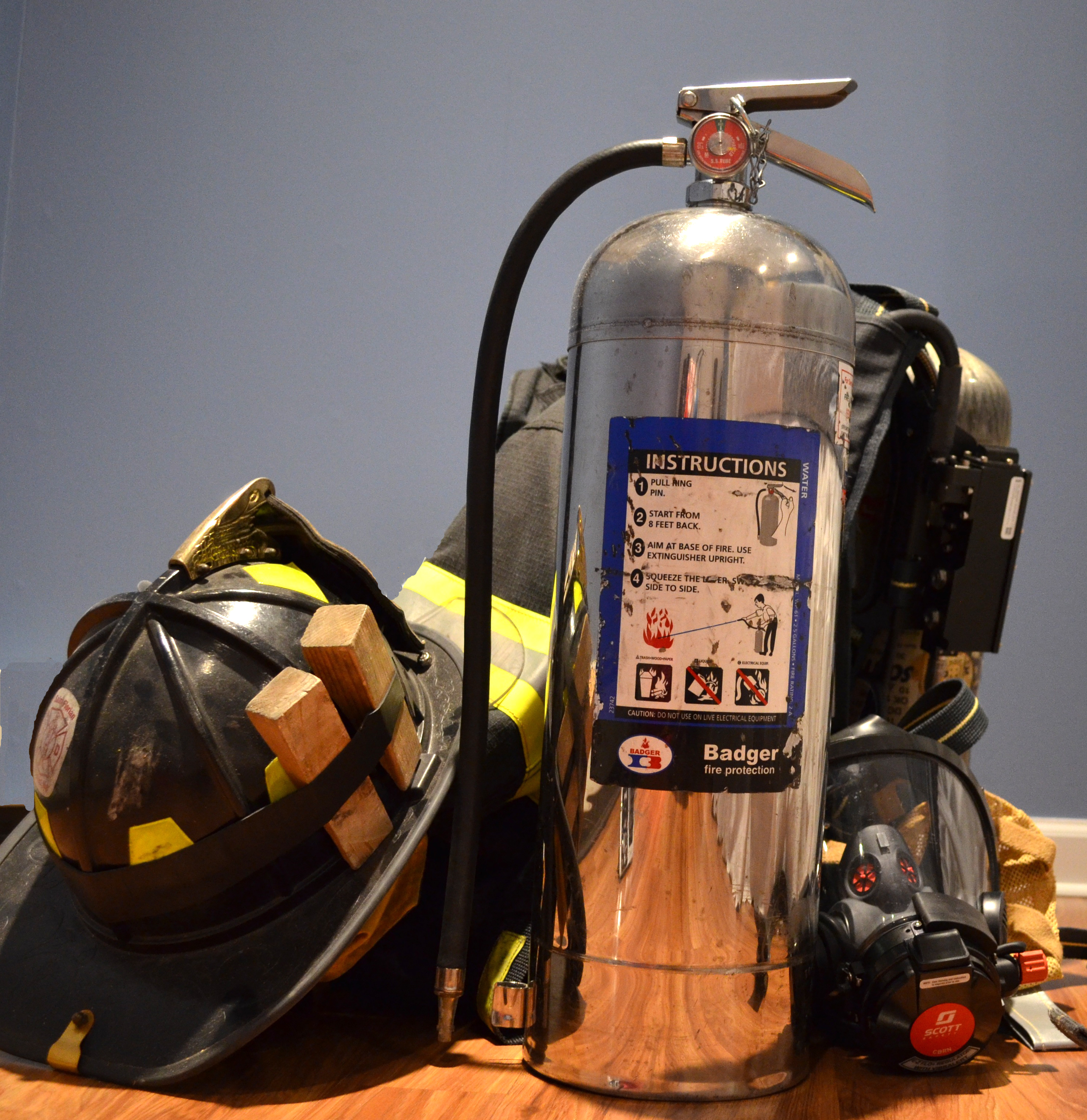 The 2-1/2 Gallon Water Extinguisher