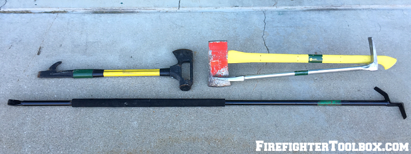 Firefighter Toolbox Hand tools