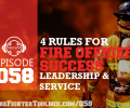 058 4 Rules for Fire Officer Success Thumbnail