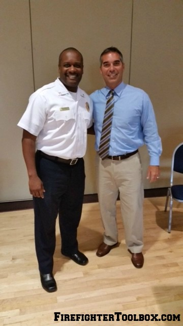 Division Chief Winston Jr & Deputy Chief Frank Viscuso