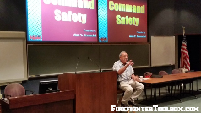 Firefighter seminars are a huge opportunity for men and women in the service.