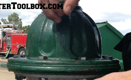Header image for firefightertoolbox.com blog post: Overcoming Frozen Hydrant Chains