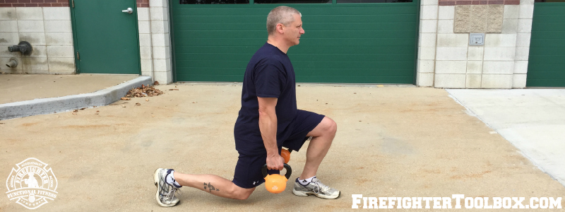 weighted lunges FFTB F3