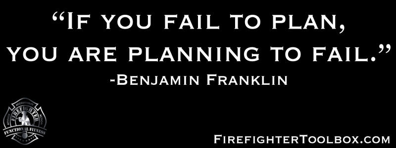Fail to Plan, Planning to Fail